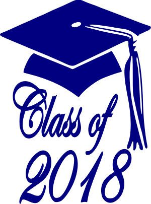 Class Of 2017 Graduation Cap Svg Vector File Class Of 2018