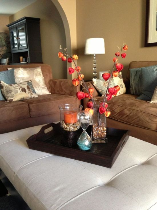 51 Living Room Centerpiece Ideas With Images Center Table Decor Center Table Living Room Living Room Table