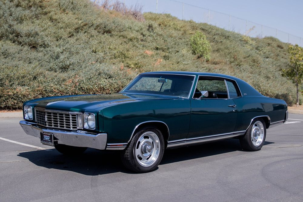Chevrolet For Sale Chevrolet Monte Carlo Chevrolet Muscle Cars