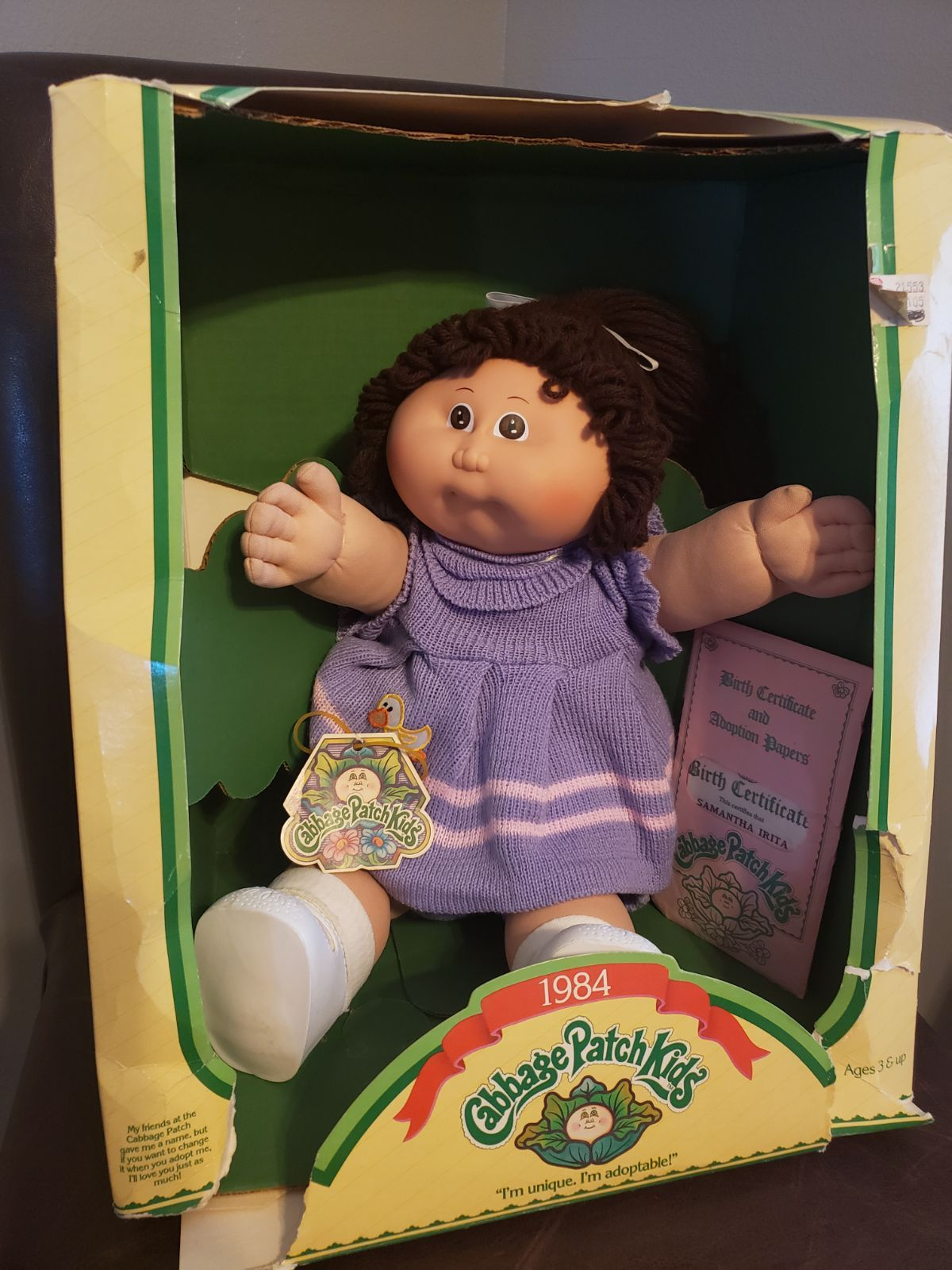 Pin On Cabbage Patch Kids Dolls