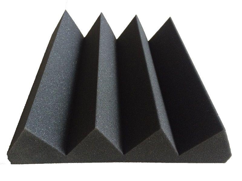 Black Triangle Acoustic Foam Foam Factory Foam Triangle