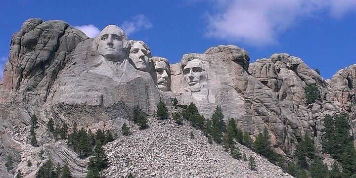 Mount Rushmore, South Dakota, Great Plains, USA, North America