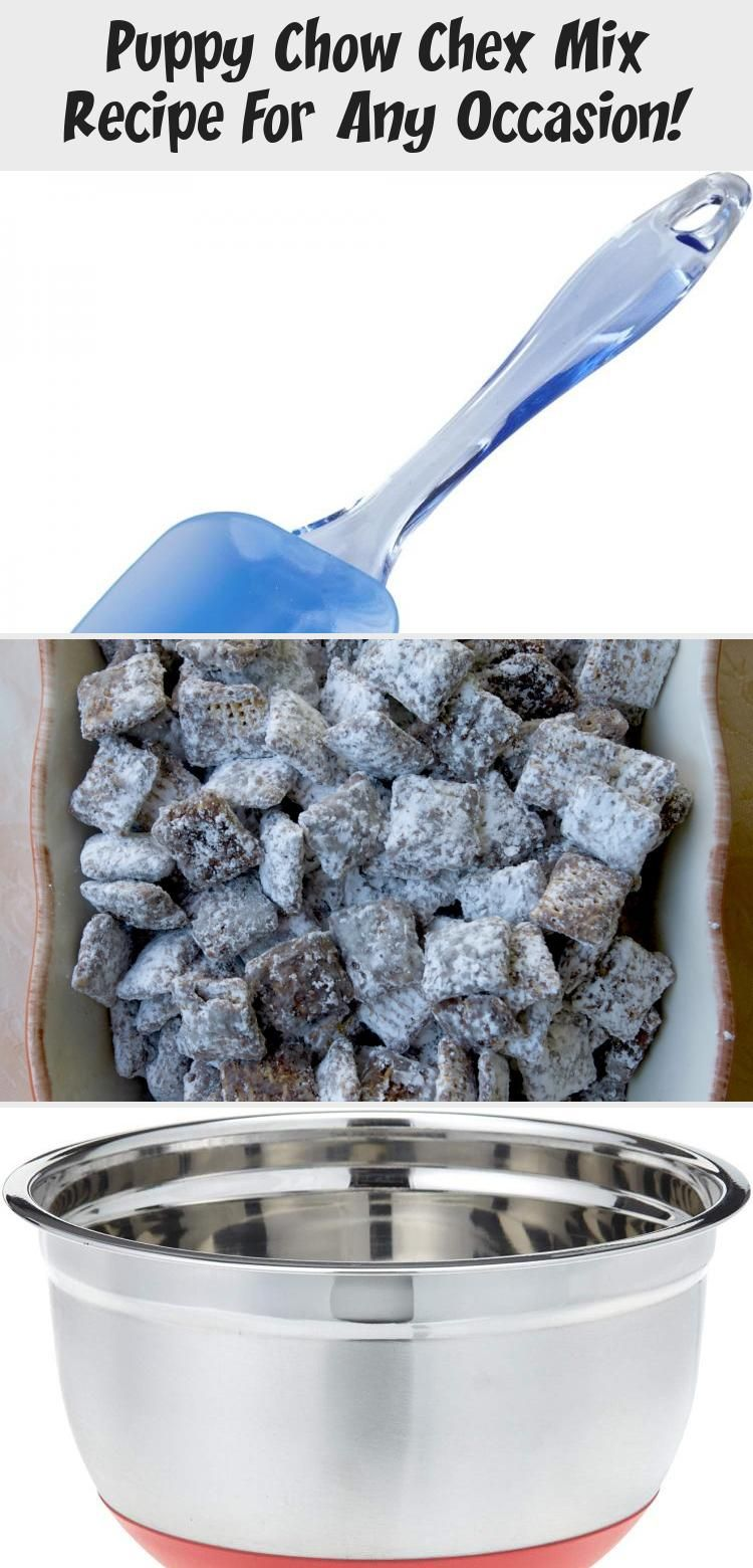 The Original Puppy Chow Chex Mix Recipe. This is our