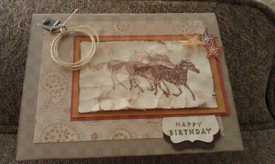 Yee Haw Birthday Card
