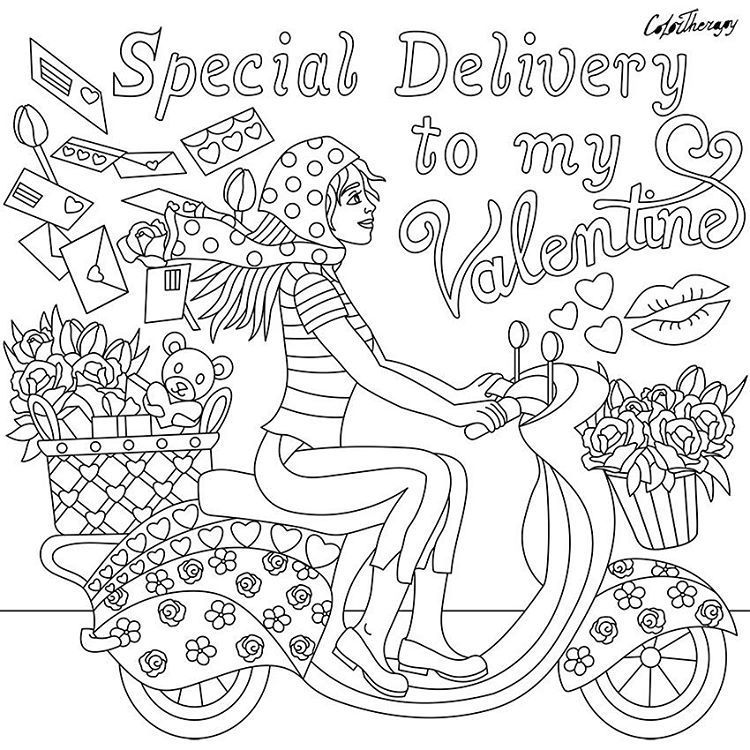 Seasonal valentine valentine days vol 1 start coloring with color
