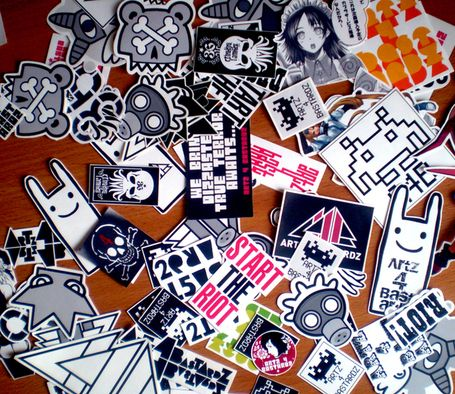 50 illest graffiti stickers