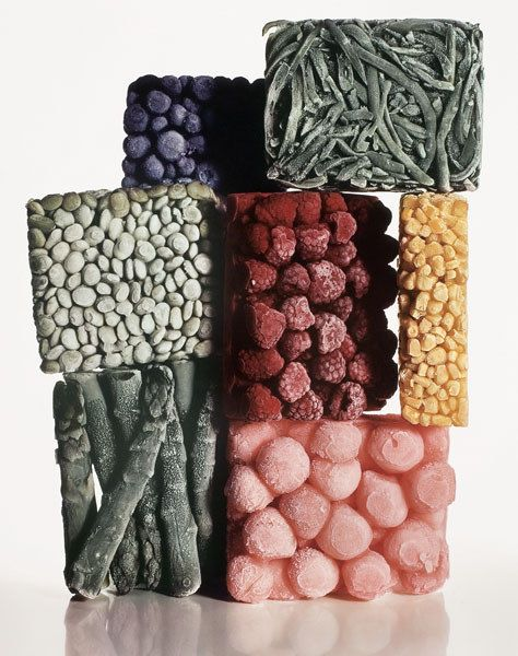 Frozen Foods, Irving Penn, New York, 1977