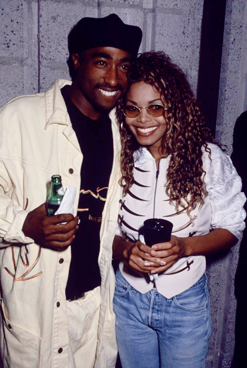 tupac shakur and janet jackson dating