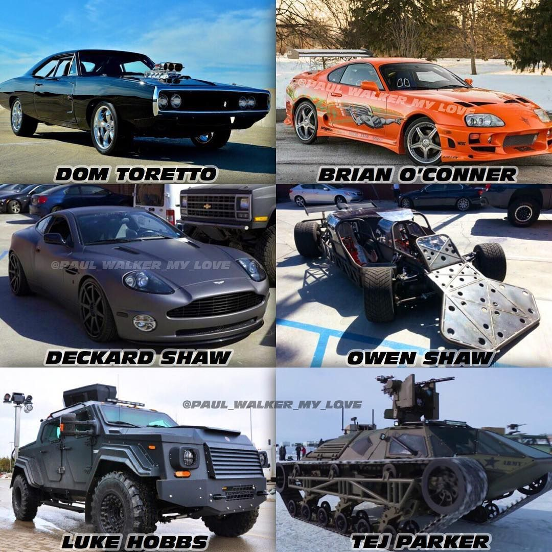 Fast Furious מהיר ועצבני On Instagram Which Car