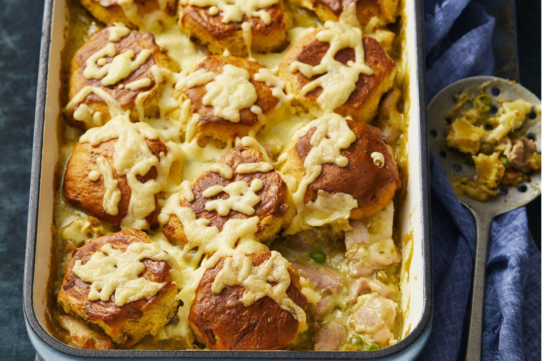 Chicken, Pea and Ham Pie | Recipe | Butter chicken ...