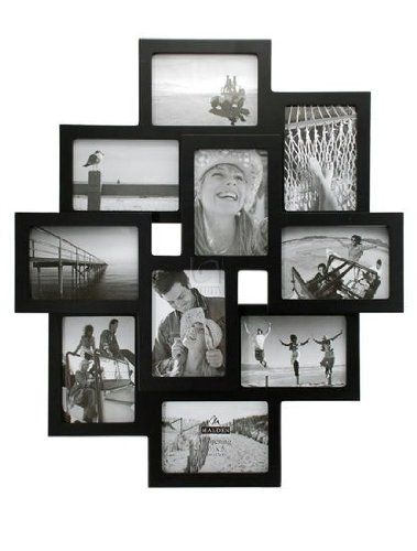 Malden International Designs Crossroads 3d 10 Opening 3 5x5 Collage Black Picture Frames Shopswell Picture Collage Frame Wall Collage Collage Picture Frames