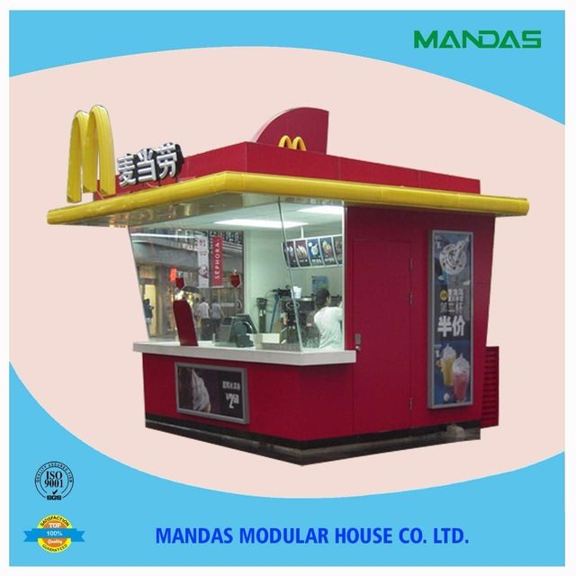 Source fast food kiosk design mobile food kiosk outdoor for Mobili kios