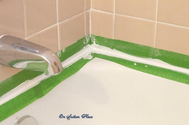 How To Caulk A Bathtub Repair Grout Bathroom Ideas Home Custom How To Caulk A Bathroom