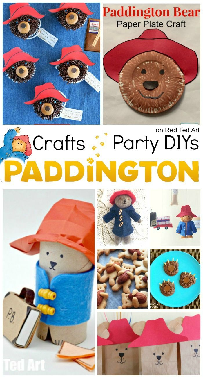 Photo of Paddington Bear Party Ideas & Crafts – Red Ted Art – Make crafting with kids easy & fun