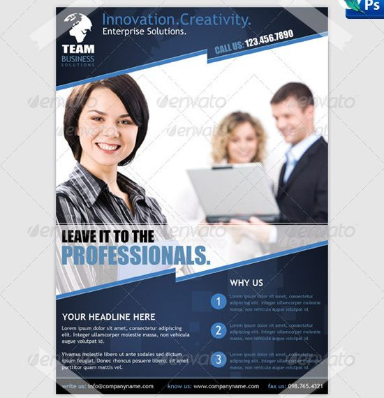 Business Flyer Design Template Projects Flyers Free Psd Files