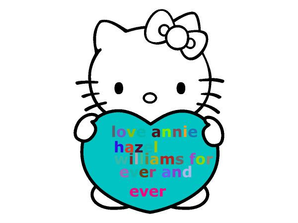 Free Hello Kitty With Heart Coloring Page Pages For You To Color Online Or Print Out And Use Crayons Markers Paints