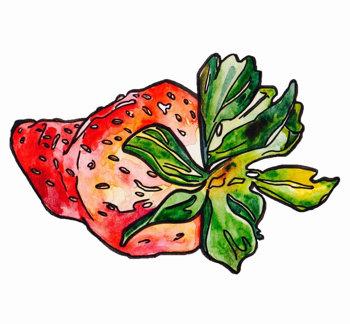 Pin by Aleksandra on 4mi Strawberry, Rooster, Animals