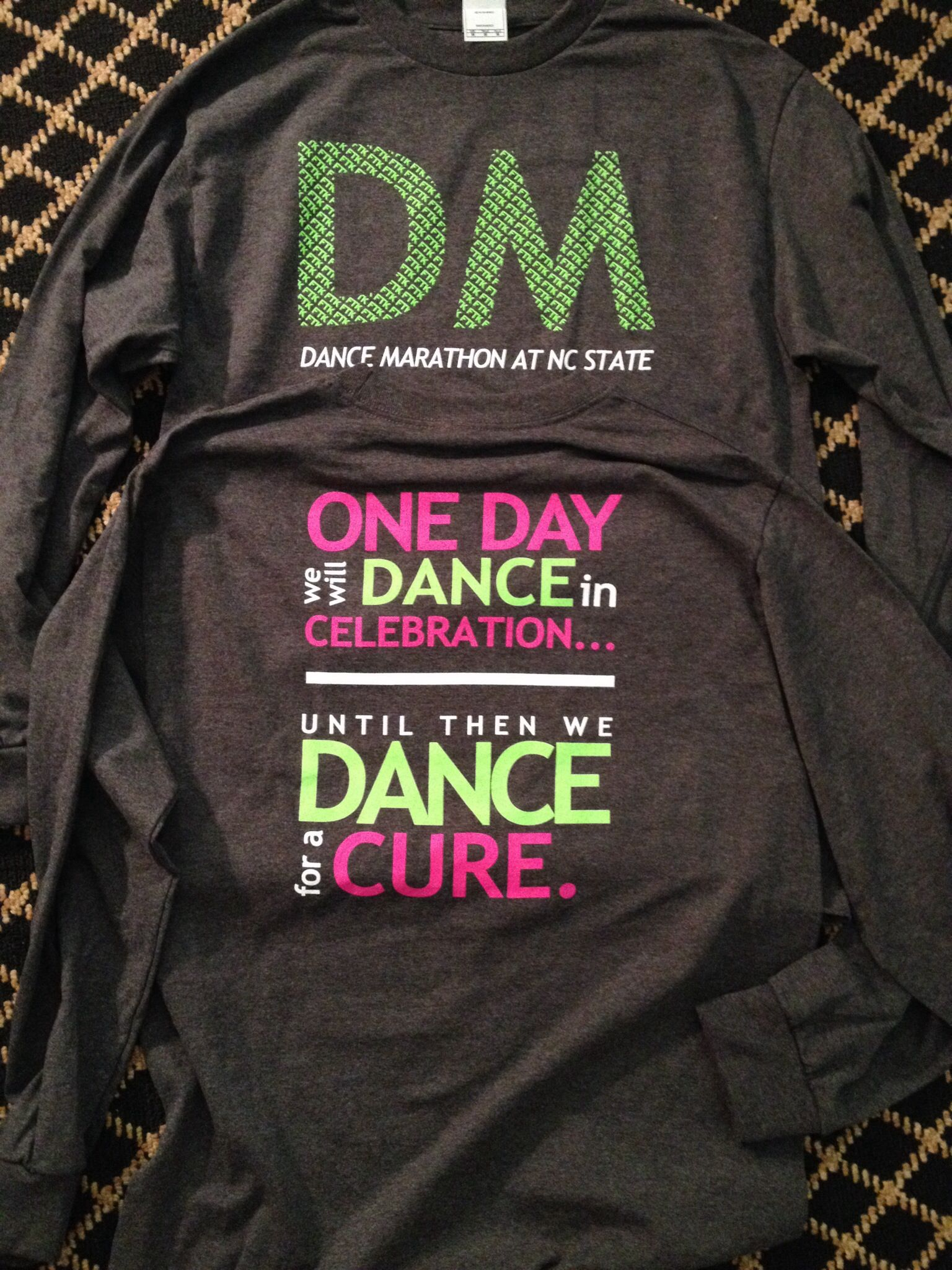 7b9c676a8 Dance Marathon at NC State tshirts. Be sure to check out  www.bsudancemarat... for information about BSUDM #dancemarathon #ftk