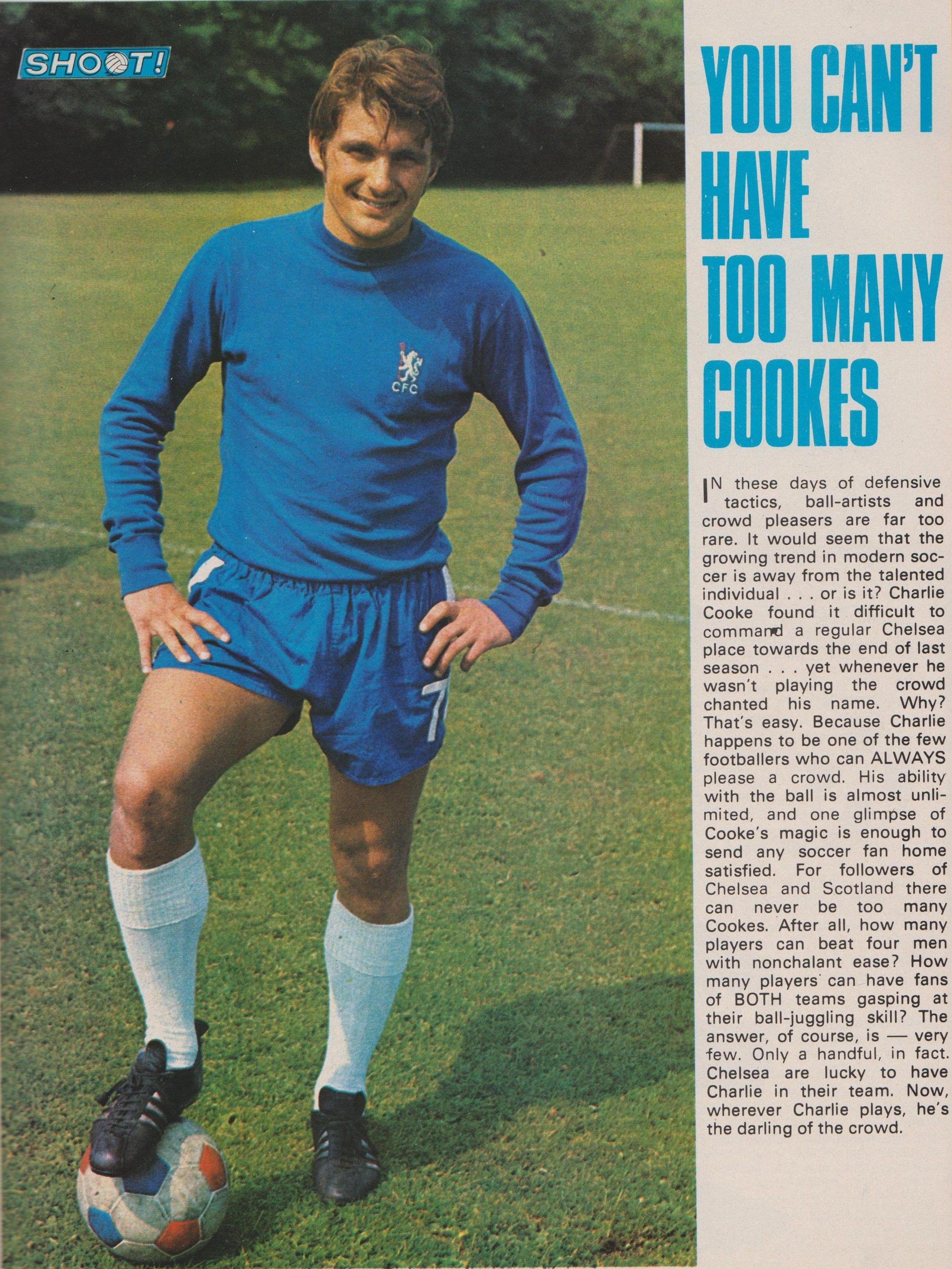 Charlie Cooke Chelsea 1969 | Chelsea football, Chelsea fans