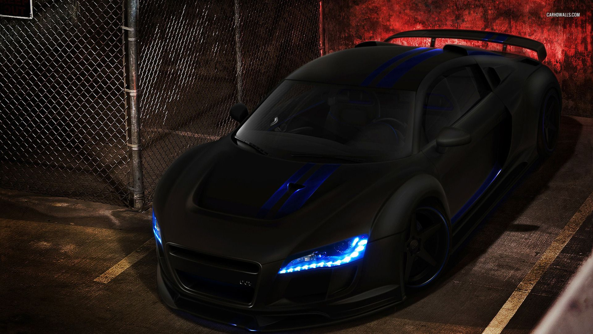 Awesome Audi R8 Carbon Wallpaper