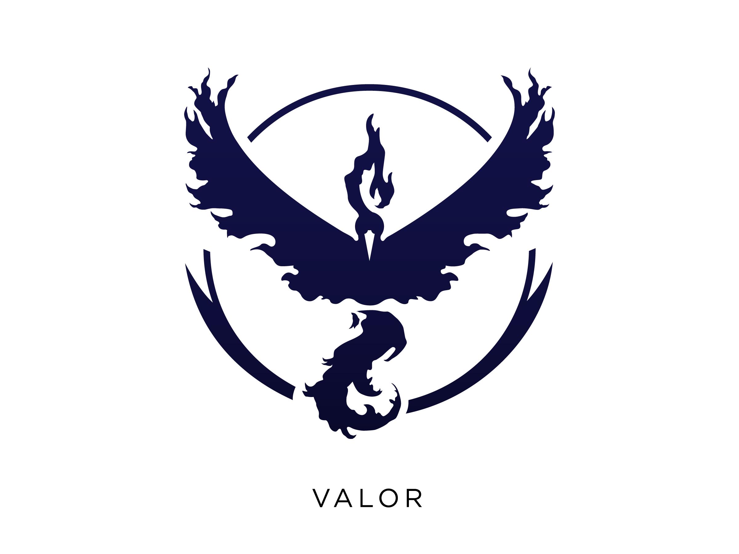 Pokemongo Team Logos Valor Png By Meritt Thomas Vector Logo Pokemon Go Pokemon