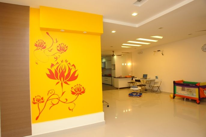 WETS offer range of Wall Painting and Wall paper fixing Services in ...
