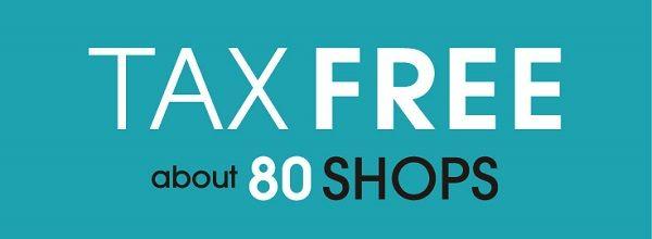 館内からのお知らせ : TAX FREE - ラフォーレ原宿