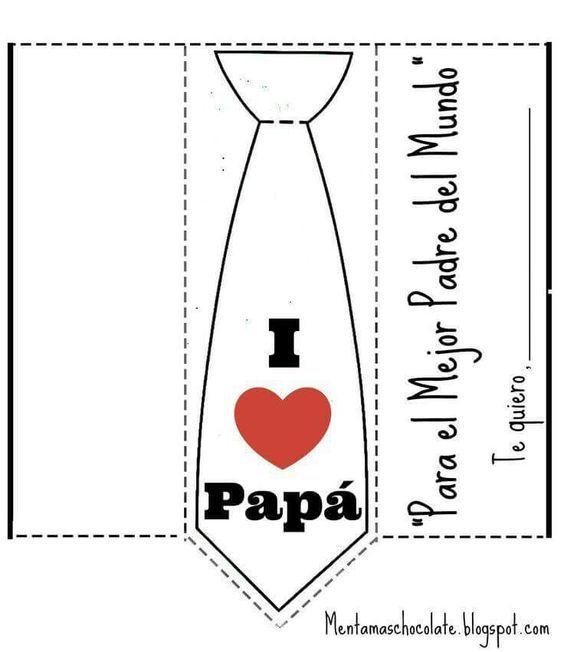 Tarjeta Día Del Padre Tarjetas Dia Del Padre Invitacion