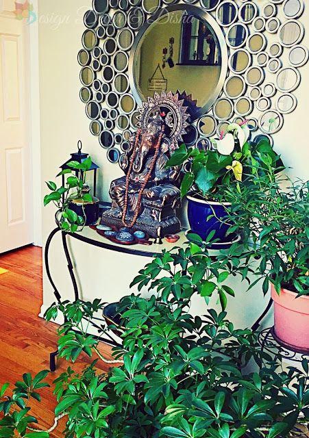 An Indian Design Decor Blog Home Tour Chitra Seetharaman: Ganpati Decoration At Home, Decor, Foyer Decorating