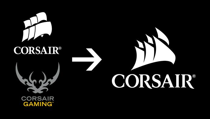 Theory Associates Redesigns Corsair Gaming S Controversial Logo Logos Design Tutorials Theories