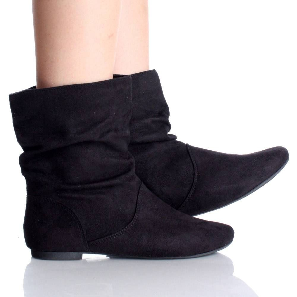 Black Ankle Boots Flat - Boot 2017