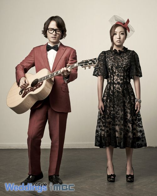 Korean Celebrity Wedding Photos: We Got Married Korean Variety Show --- Jo Jung Chi And