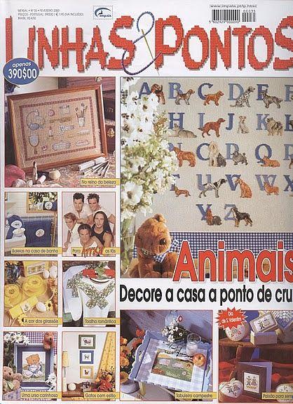 Zeitschriften mit vielen Motiven