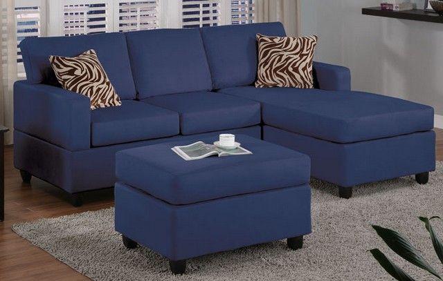 Blue Sofa Slipcover