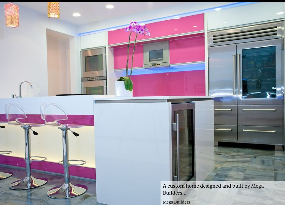 Only for peninsula / island design ......raised seating with L shape work surface below