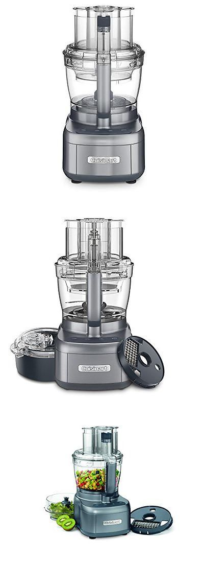 Cuisinart FP 13DGM Elemental 13 Cup Food Processor and Dicing Kit Gunmetal