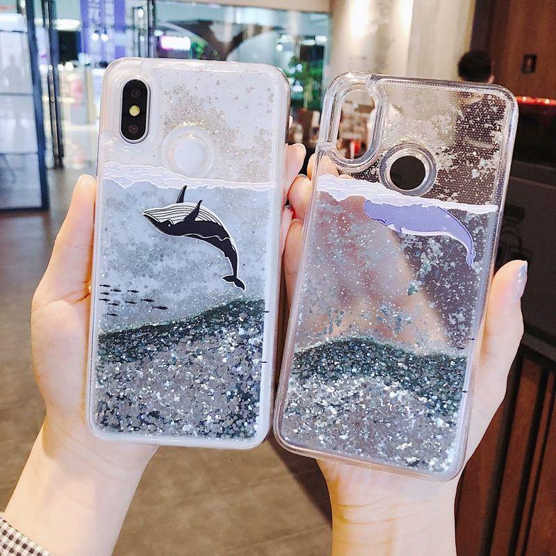 Dynamic Liquid Case For Xiaomi Redmi Note 5 Pro Quicksand Back Cover Redmi 5 Plus Phone Case For Xiom Glitter Phone Cases Phone Cases Liquid Glitter Phone Case