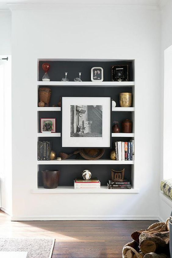 10 Most Popular Recessed Shelves Living Room