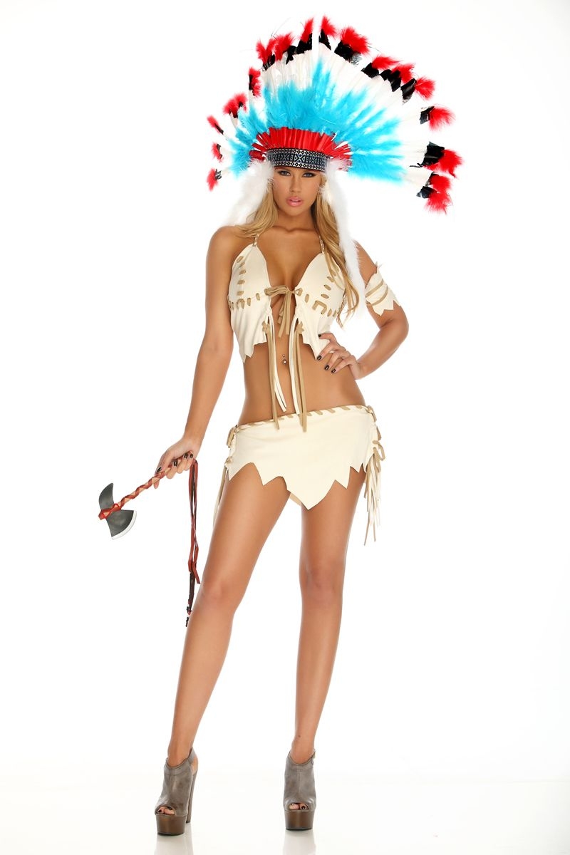 fr553438 tribal tease women native american halloween costumes - Native American Costume Halloween