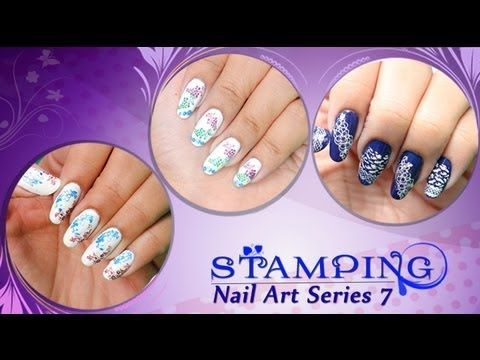 Stamping nail art series 7 do it yourself khoobsurati stamping nail art series 7 do it yourself khoobsurati playlist solutioingenieria Choice Image
