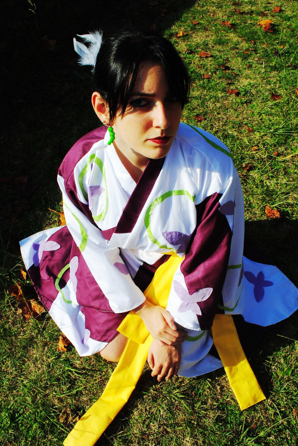 Kagura Kimono Cosplay from Inuyasha - Final Act by TheScissorsTales on Etsy  https    286d6d2bf870