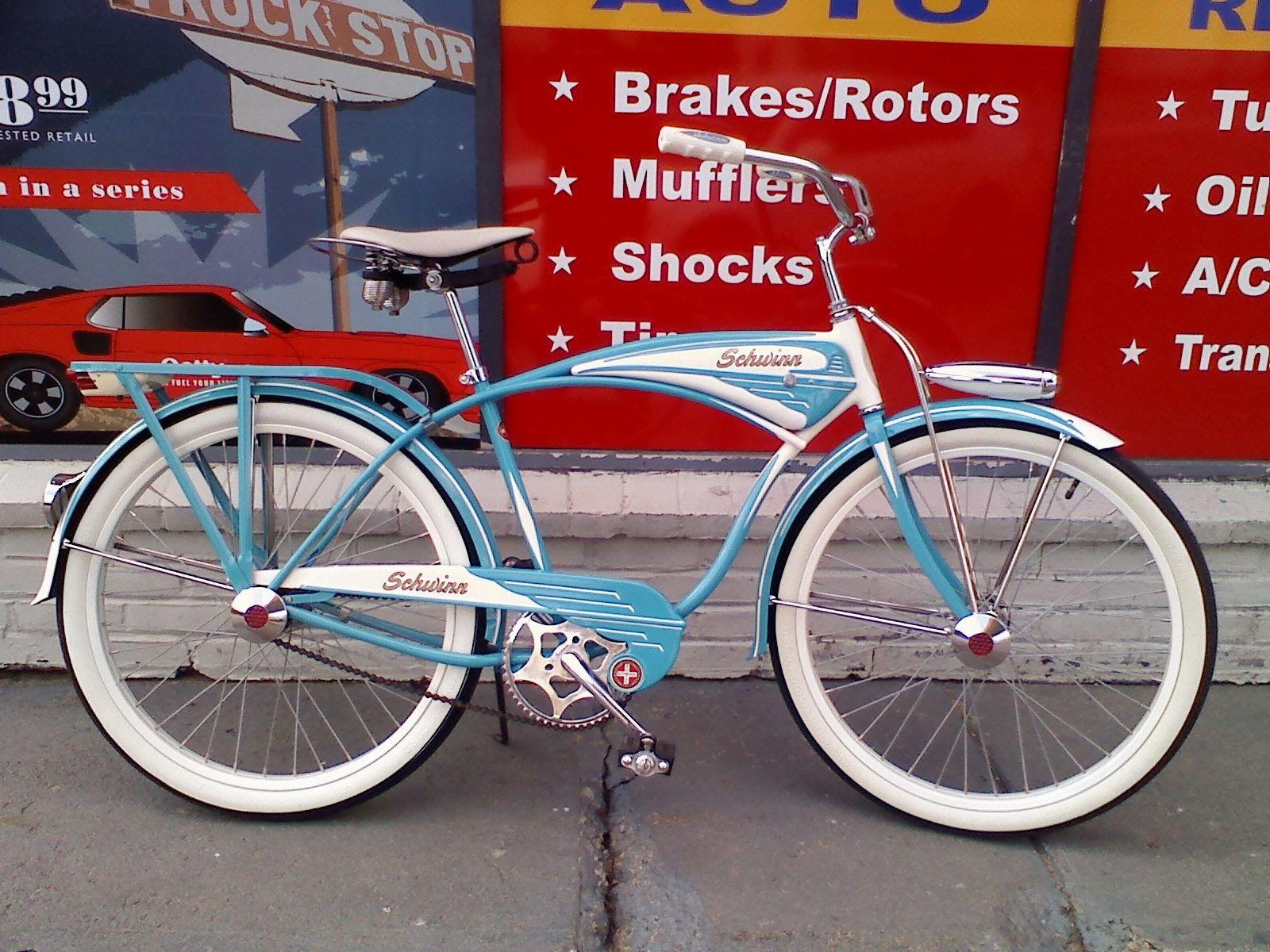 Colon Cycles 1950 S Custom Schwinn Cruiser Schwinn Cruiser Schwinn Bike Schwinn