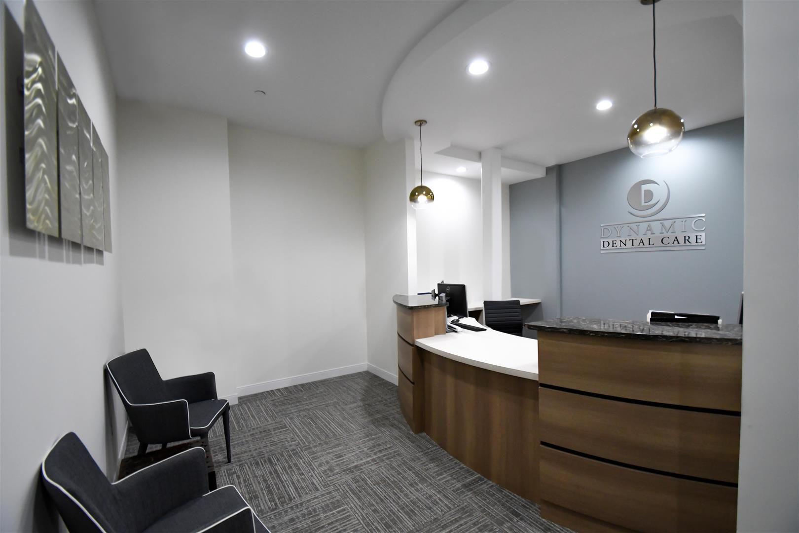 Dynamic Dental Care Interior Design Portfolio Dental Office Design Dental Reception Interior Design Portfolio