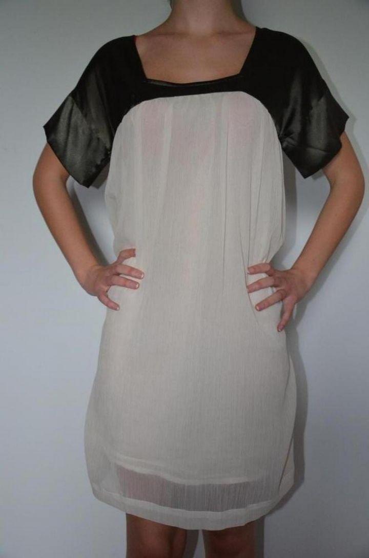 Robe bi-matière T34/36 dans Robe / vêtements / mode