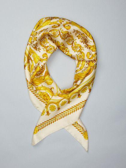 Foulard Silk Scarf From Versace My Style Silk Scarves
