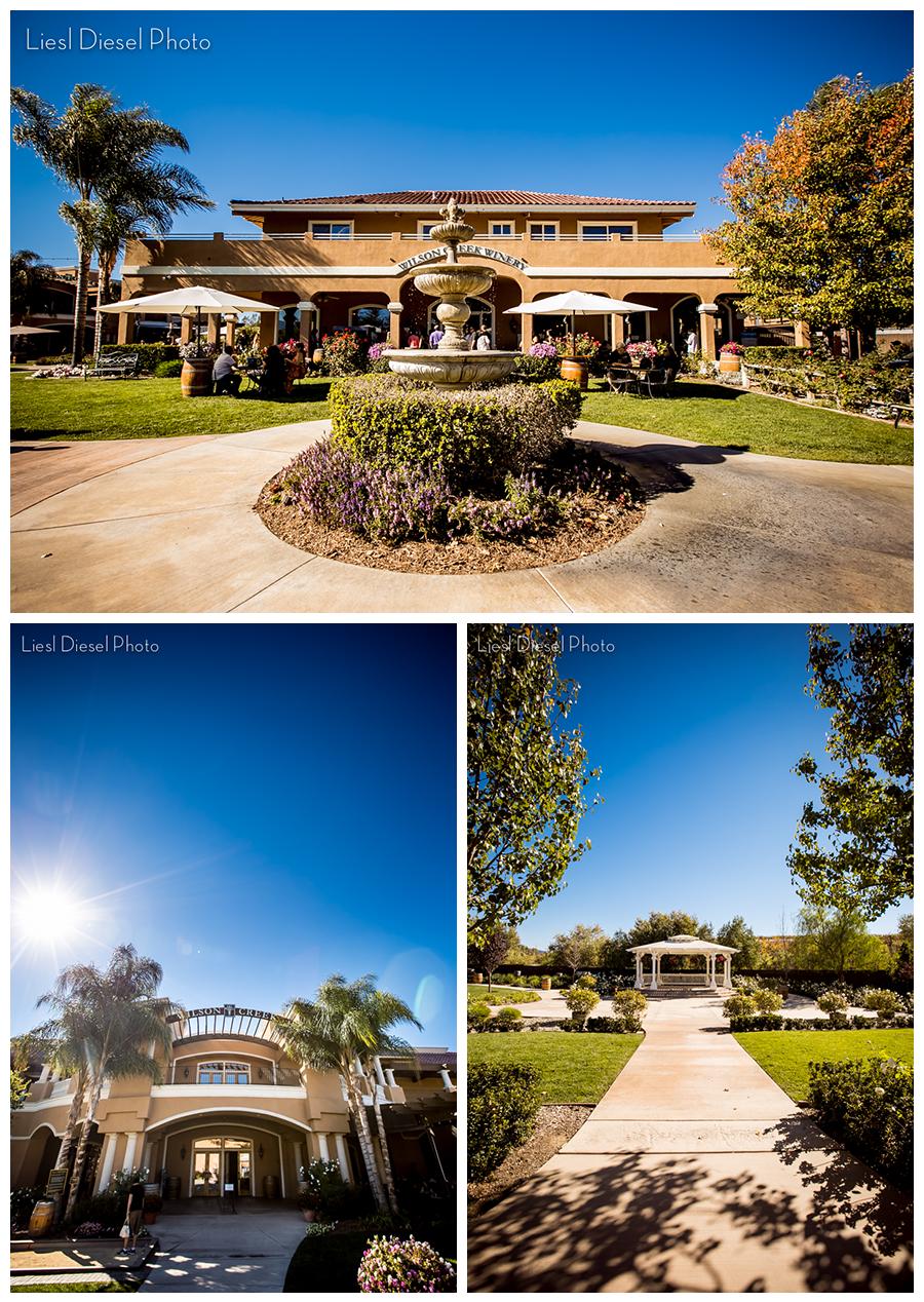 Temecula Wilson Creek Winery Wedding venue california
