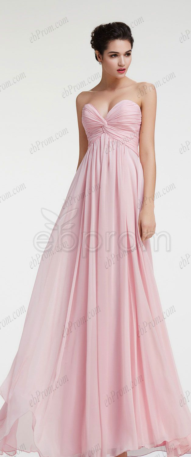 Sweetheart light pink maternity bridesmaid dresses evening dresses ...