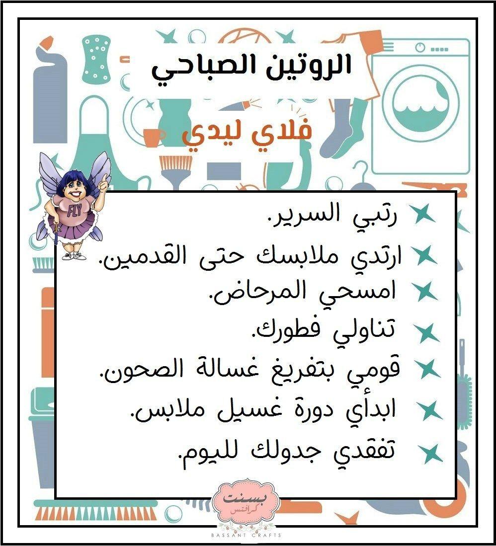تنظيم وتنظيف المنزل على طريقة فلاي ليدي الجزء الأول
