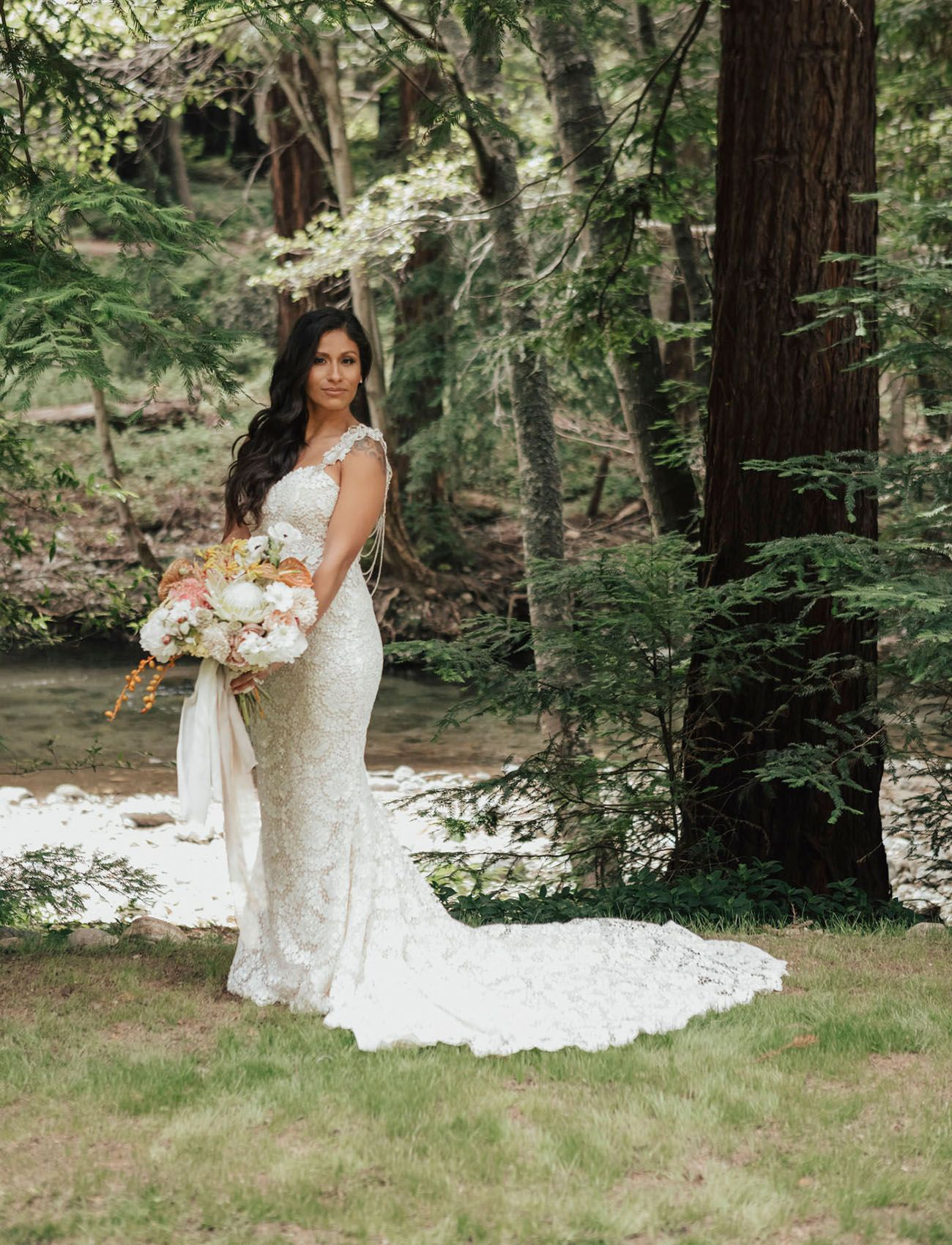 Intimate big sur wedding with a boho floral reception you have to