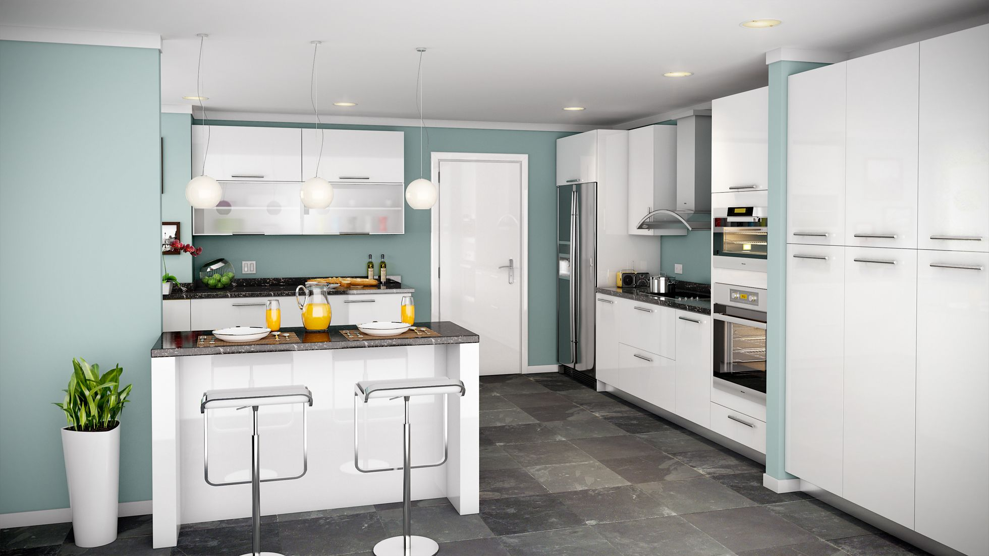 Artika European Refined Excellence At It S Best Offering A High Gloss Acrylic Flat Pa Kitchen Cabinets Cost Of Kitchen Countertops Kitchen Remodel Countertops